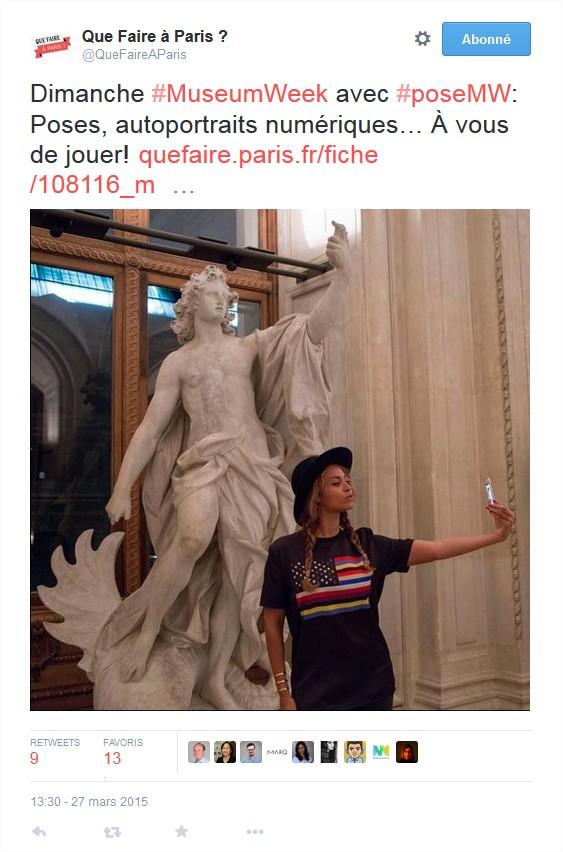 #MuseumSelfie pour la #MuseumWeek 2015