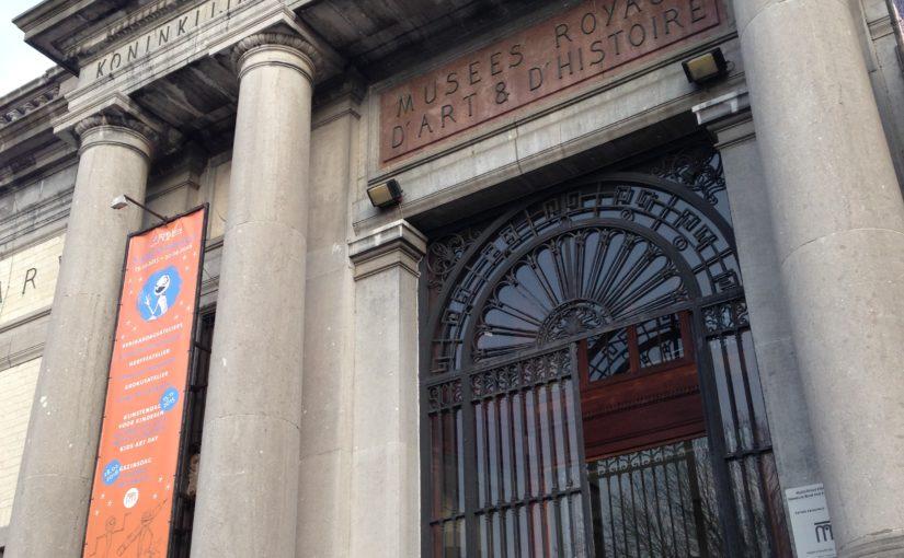 Musée du Cinquantenaire, Bruxelles, mars 2016.