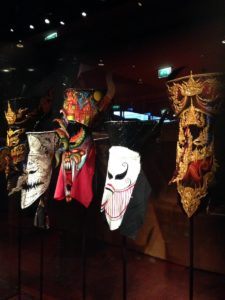 Thai Masks, musée du quai Branly.